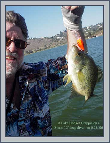 2006 fishing reports january thru june in san diego by for Lake hodges fishing report