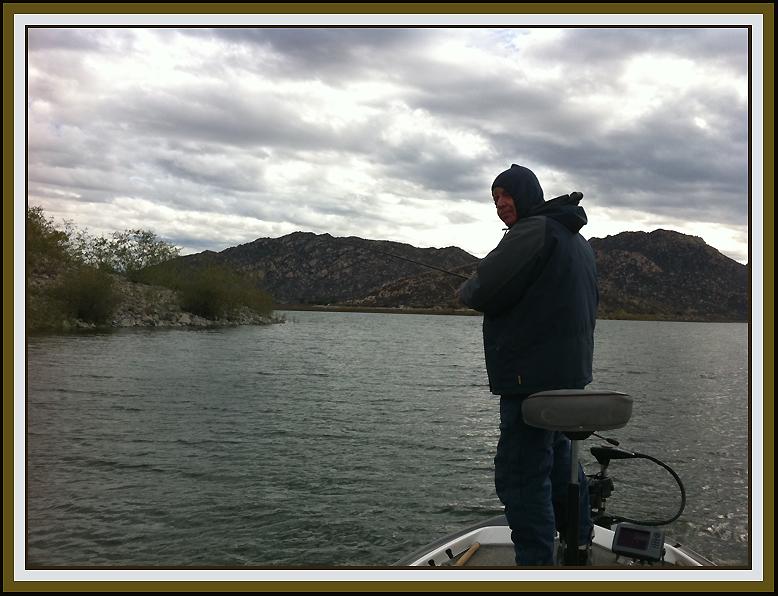Michael seewald 39 s january thru june 2011 fishing reports for Lake perris fishing report