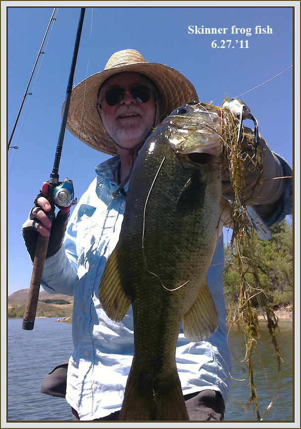 Michael seewald 39 s january thru june 2011 fishing reports for Lake skinner fish report