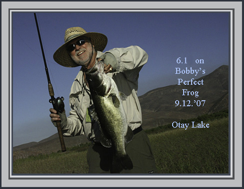 A littleso calif fishing story epic first day for for Otay lakes fishing