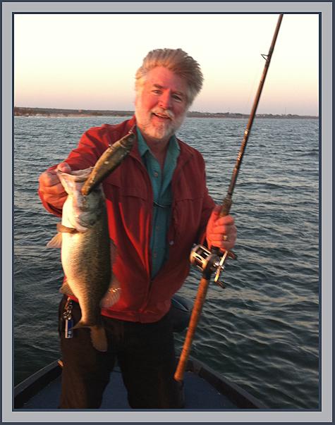 Lake amistad report 11 24 2010 for Otay lakes fishing