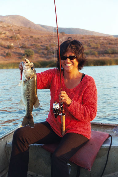 My wife keeps saying i love fishing more than her off for Otay lakes fishing
