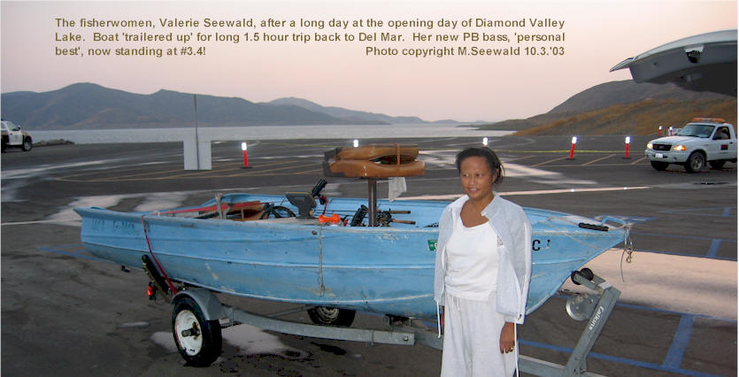 Diamond valley lake opening day stories by michael and for Diamond valley lake fishing